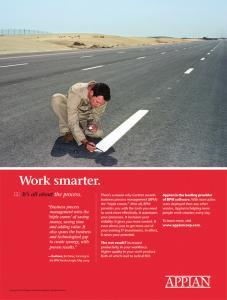 Appian - Work Smarter Ad