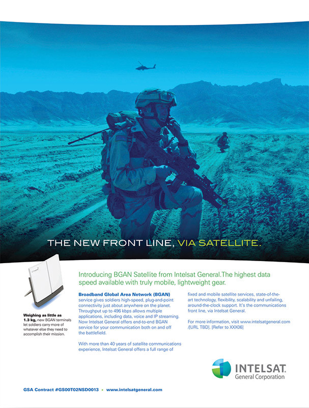 Intelsat - The New Front Line Ad