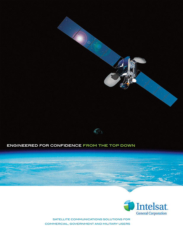 Intelsat - Pocket Folder Cover