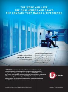 L3-STRATIS - Recruitment Ad