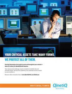 QinetiQ - Cybersecurity Ad