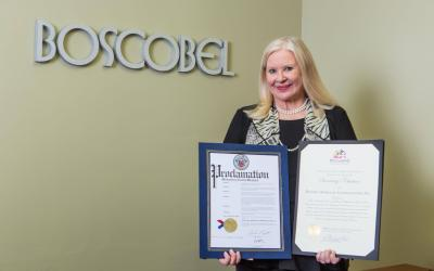 State of Maryland and Montgomery County Recognize Boscobel's 40th Anniversary