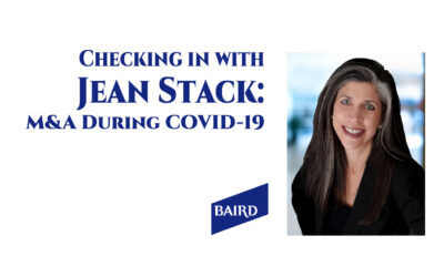 Exclusive! Checking in with Jean Stack on M&A During COVID